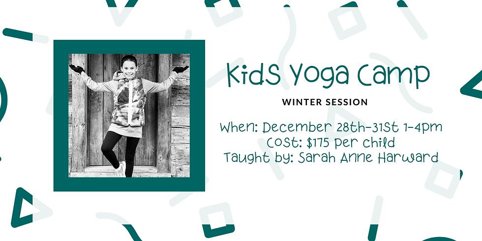 Kids Yoga Camp (Winter Session)
