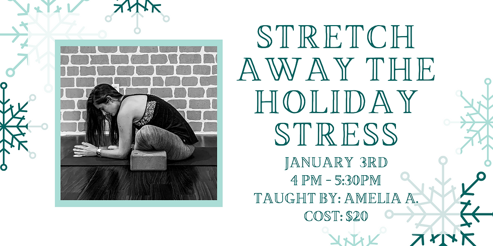 Stretch Away the Holiday Stress