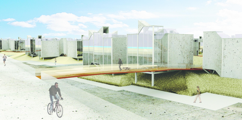Rendering | Urban Planning in Queens