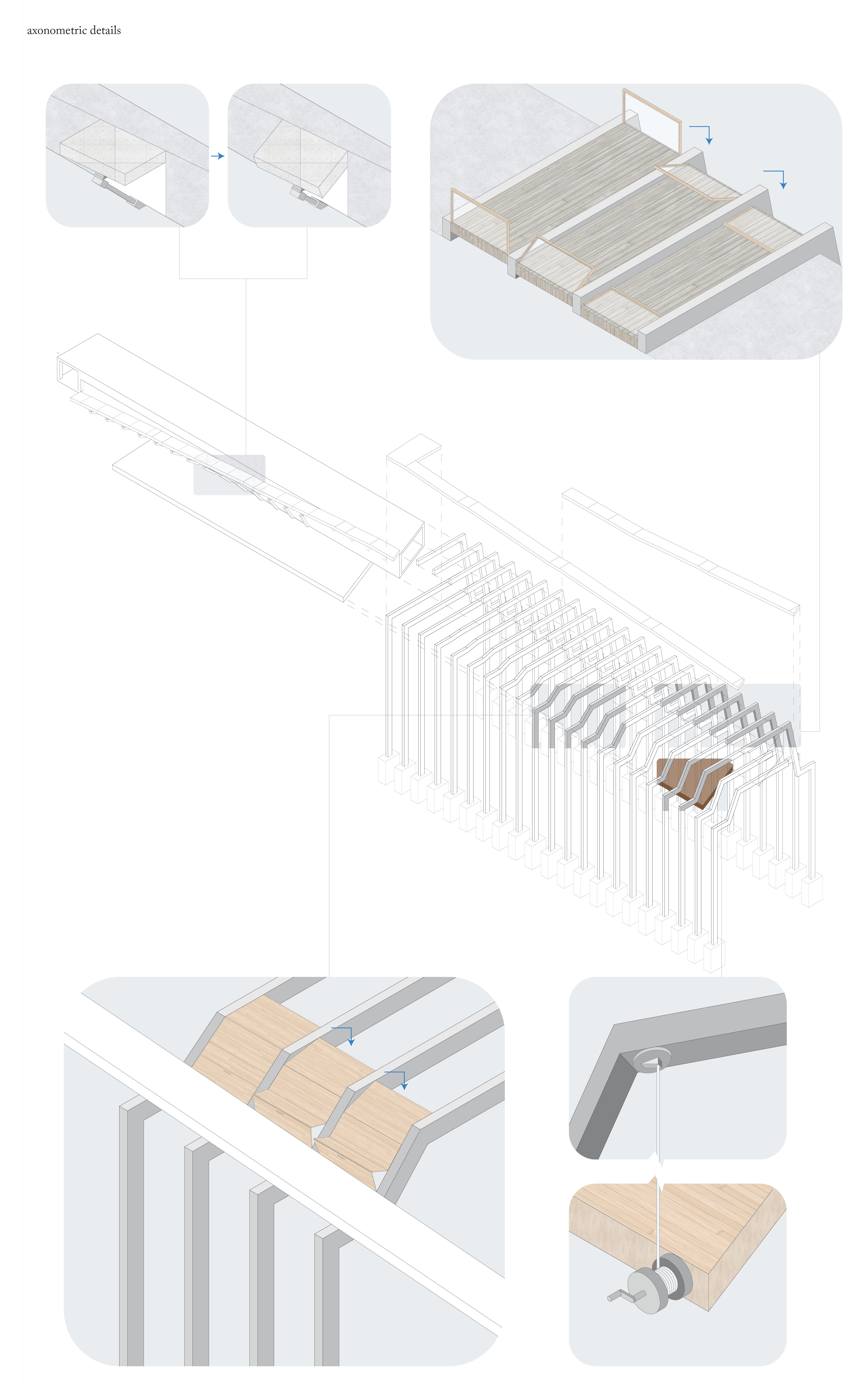 axonometric detail diagram