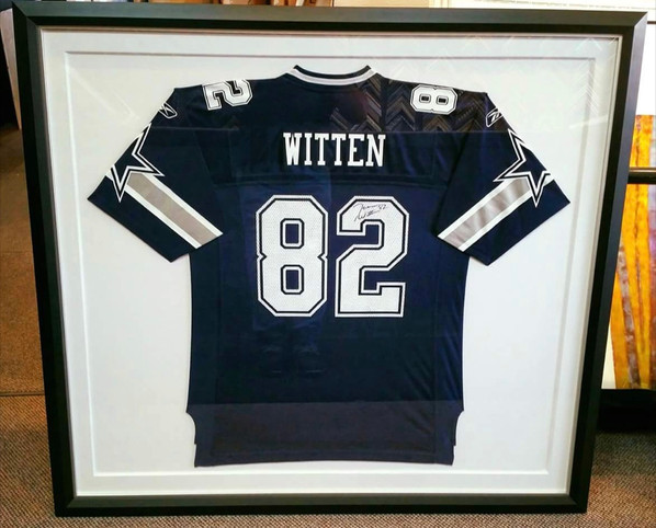 Cowboys Jersey on Fabric Board