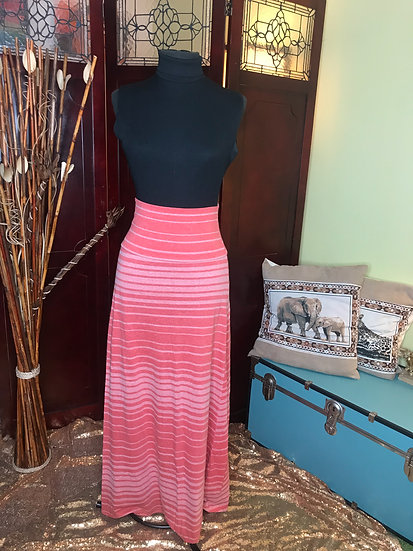 Strawberry Peppermint Maxi Skirt