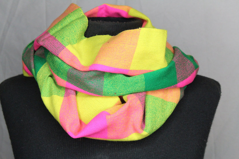 Skittle Checker Scarf