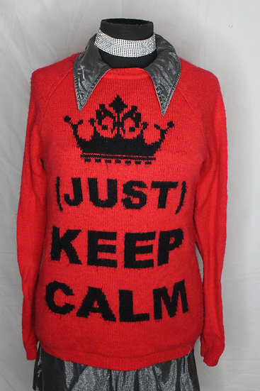 Keep Calm Sweater