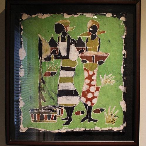 Burkina Sisters (Framed)