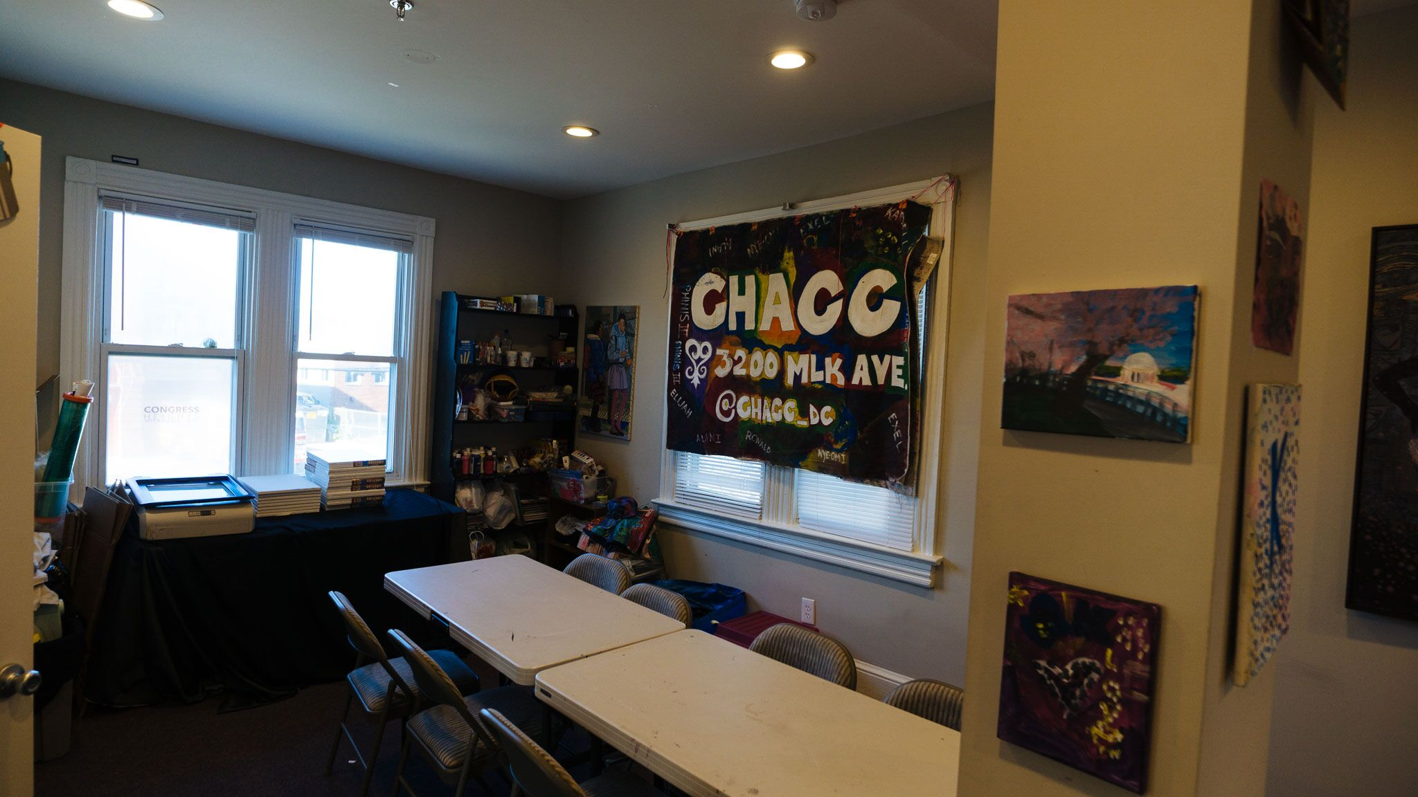 CHACC Workshop Room