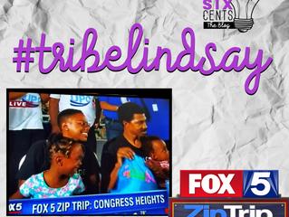 #tribelindsay on Fox5 DC's Zip Trip: Congress Heights