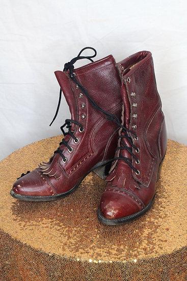 Tassle Tale Vintage Boots