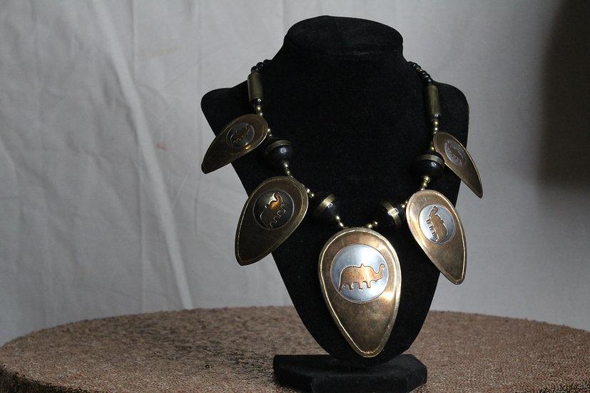 Elephant Drip Necklace