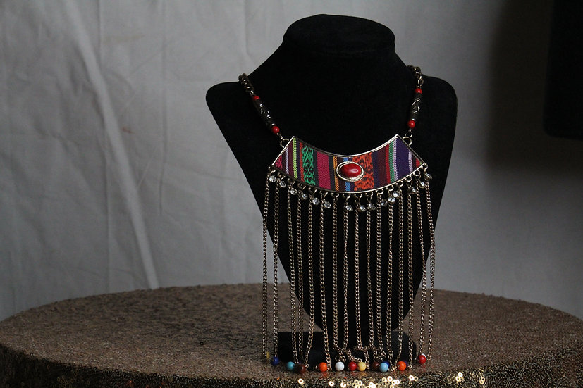 Tribal Drip Necklace