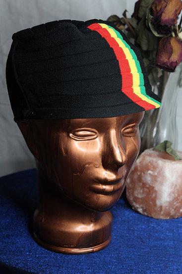 Rasta Strip Stretch Hat