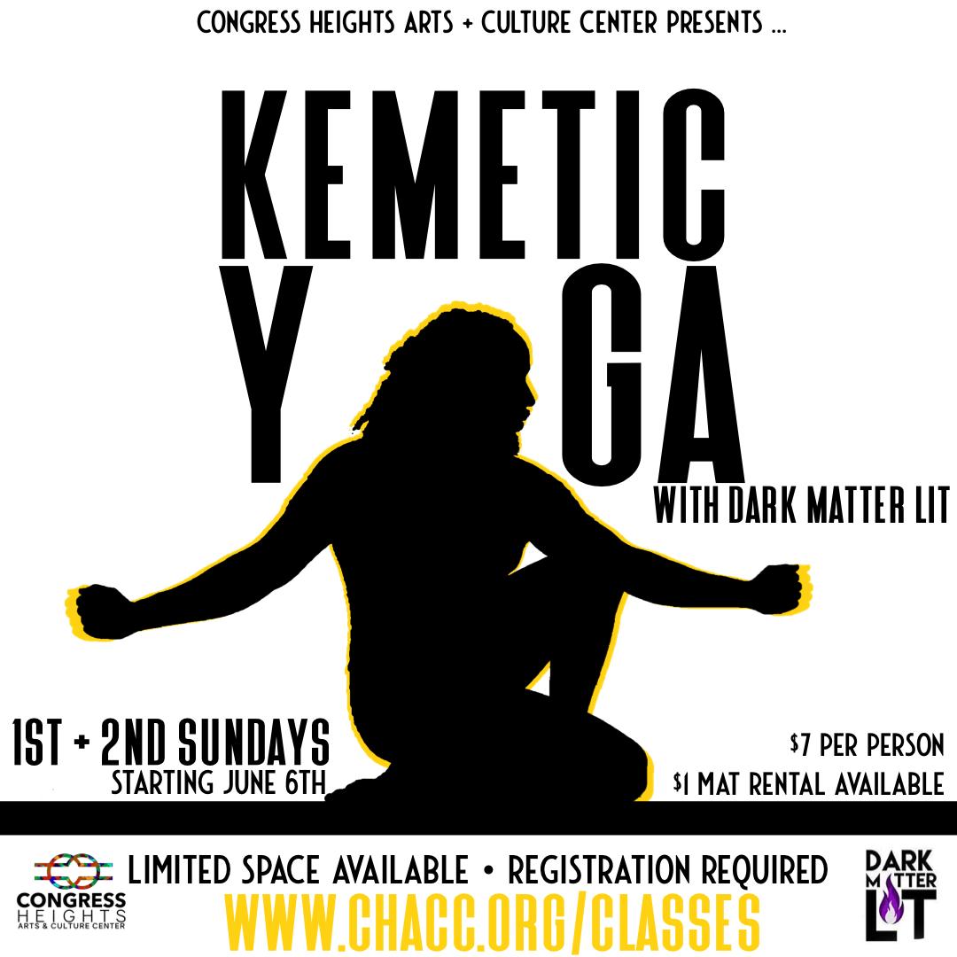 Kemetic Yoga with Dark Matter Lit