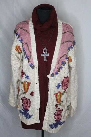 'Grandma's Garden' Sweater
