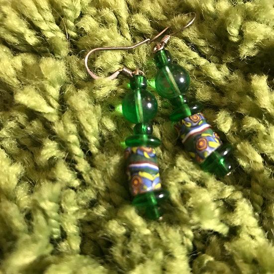 Green Lantern (Earrings)
