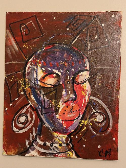 Cynthia x Unknown Artist (Unframed)