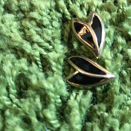Black Tulip (Earrings)