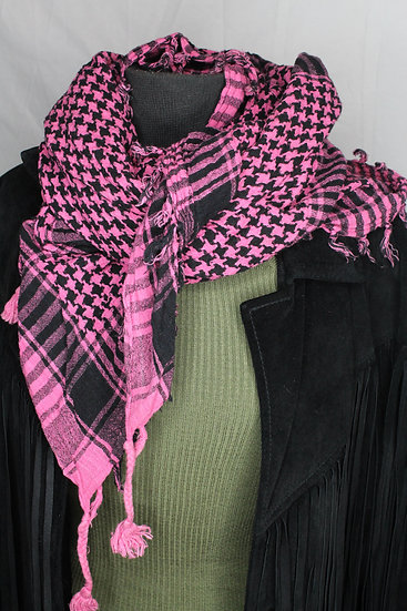 Checker Neck Scarf