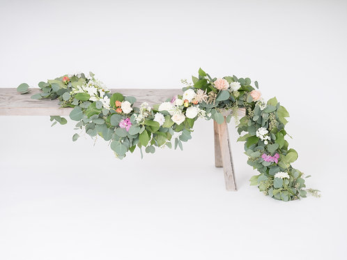 Greenery Garland with Florals