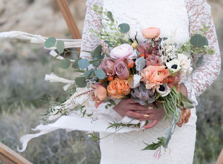 5 Garden Style Wedding Bouquets that you will LOVE!