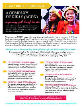 ACOG Corporate Sponsorship Flyer FY19_Pa