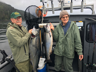 Kings and a few coho