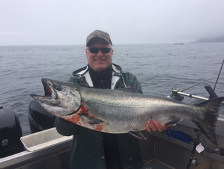 Coho and big tides