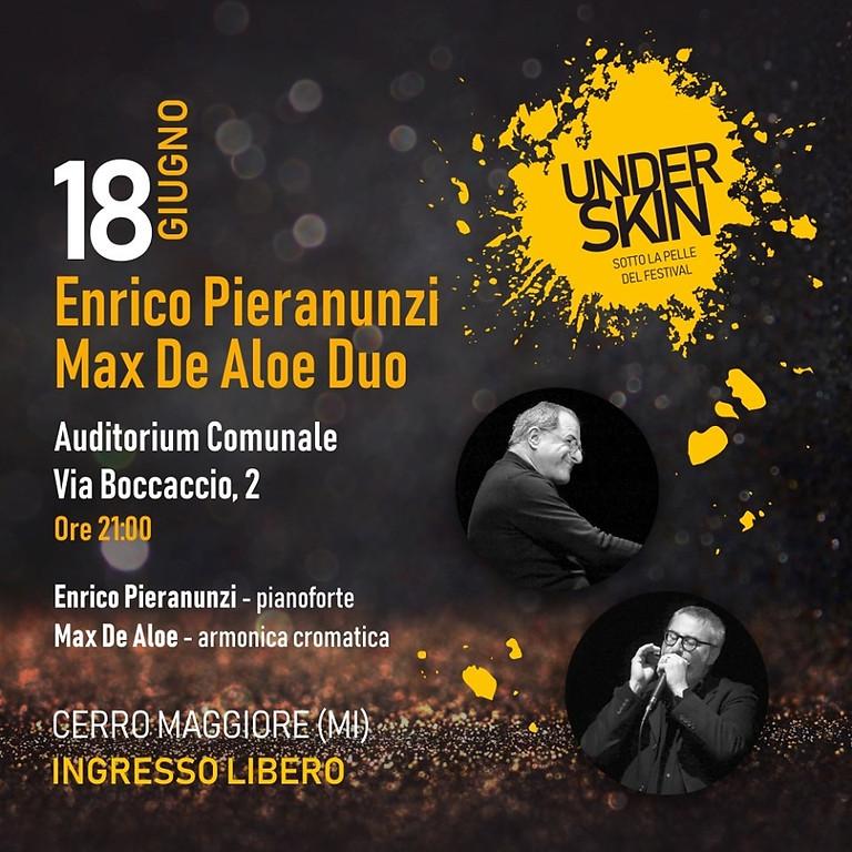 """""""Underskin – Sotto la Pelle del Festival"""" con Pieranunzi e De Aloe"""
