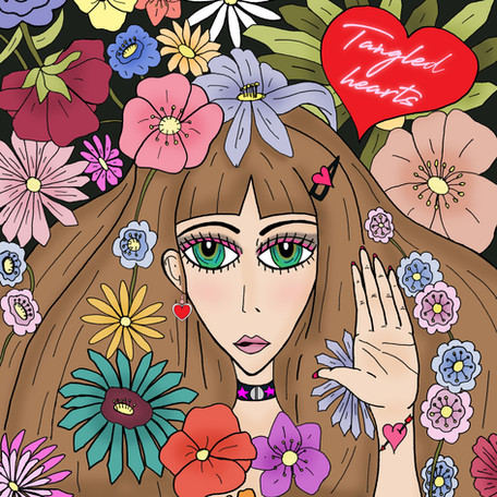 """Single Release: """"Tangled Hearts"""" by Melotika"""