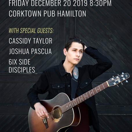 COMING UP: Garrett Lajoie's EP Release Party
