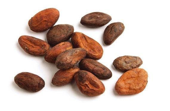 surowe ziarna kakao