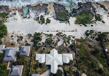 Arerial Shot Beach House Vanuatu Gudfala Asana