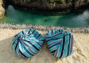 Relaxing Bean Bags Beach House Vanuatu Gudfala