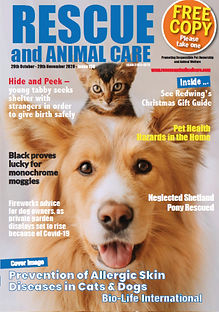 RESCUE-and-ANIMAL-Care-Magazine-29th-Oct