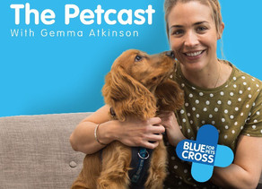 BLUE CROSS LAUNCHES 'THE PETCAST' – A NEW PODCAST SERIES FOR ANIMAL ENTHUSIASTS WITH GEMMA ATKINSON