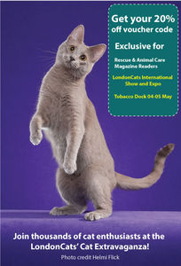 LondonCats International Show 04-05 May promo discount code