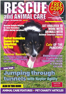 Rescue and Animal Care Magazine 5th Augu