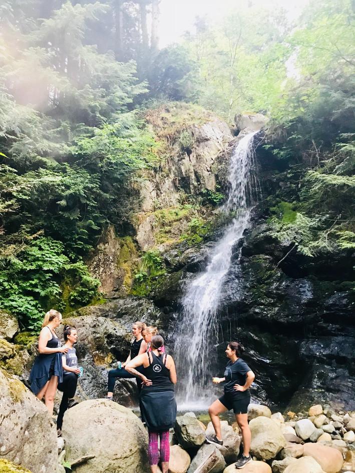 Tough Kegger Training - Langdale Falls
