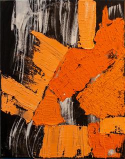 Orange on Black #2
