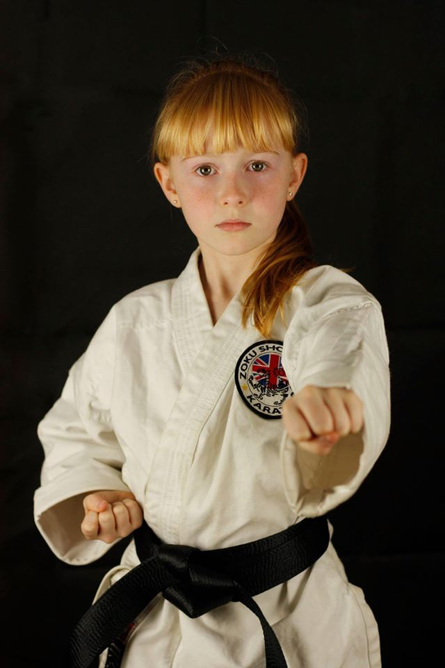 Leyah Black belt