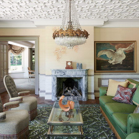 Elegant Estate - Living Room