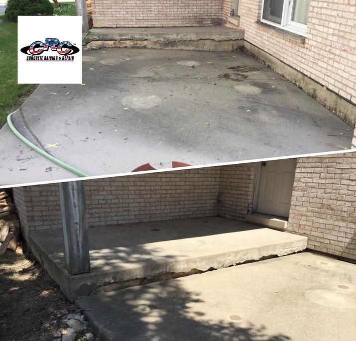 "Raising Concrete Slabs up 6-12"" Around the House"