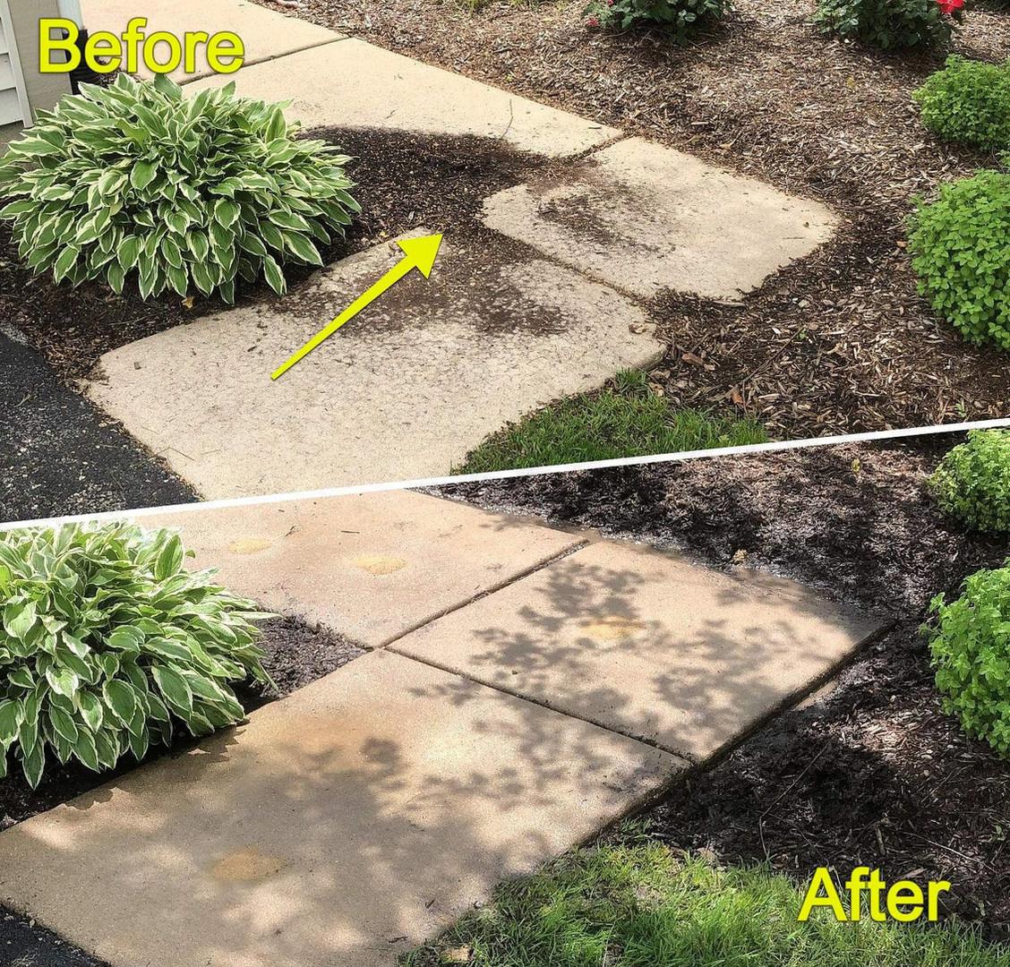 Raising Concrete Sidewalks, Eliminating Tripping Hazad, and Water Pooling