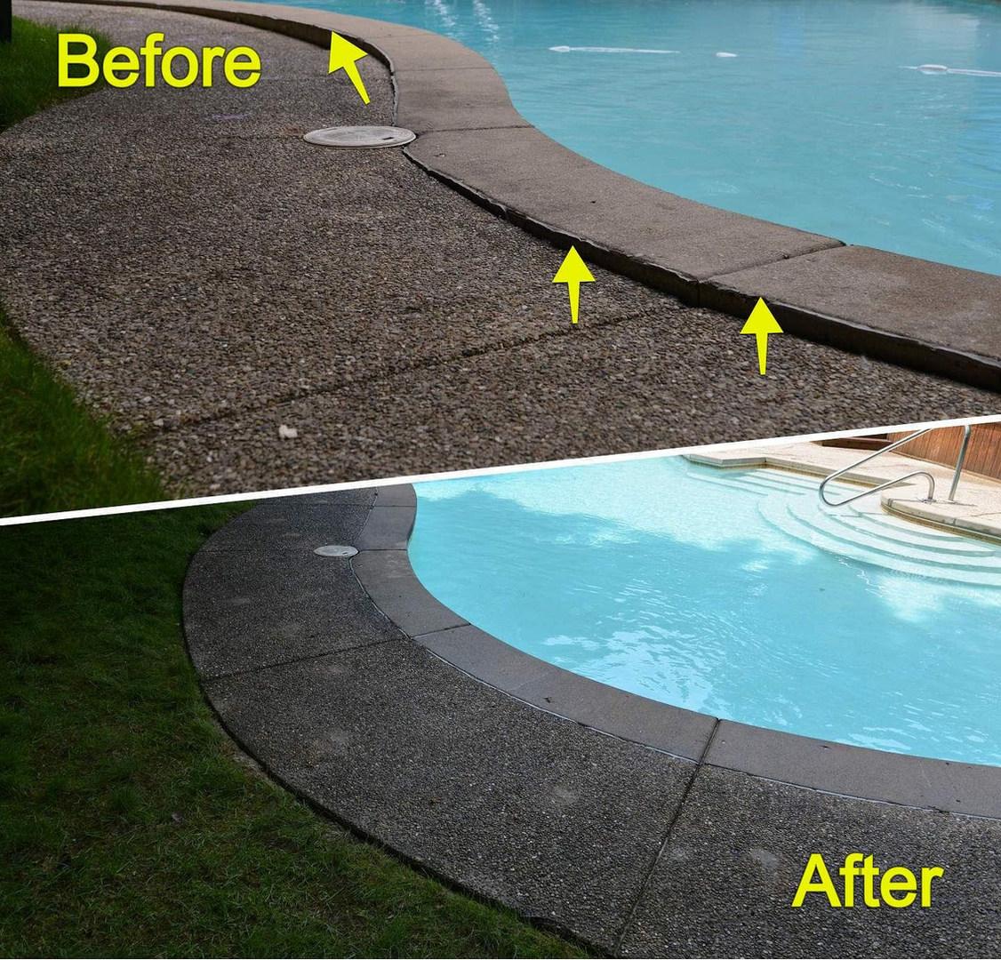 Eliminating Tripping Hazards around the Pool