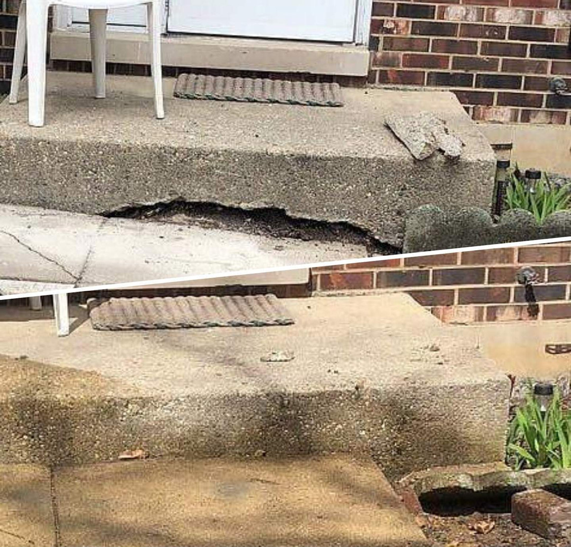 Sidewalk Concrete Raising