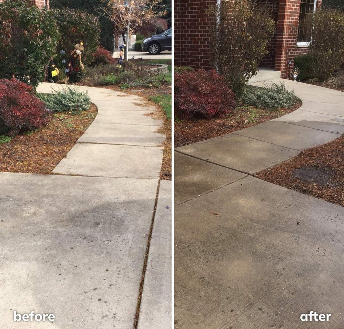 Raising Concrete Front Walk, Eliminating Tripping Hazzard, Easing Snow Shovelling