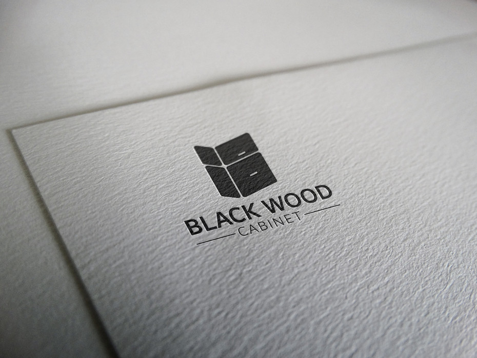 Black Wood Logo