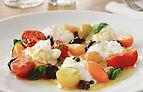 Caprese salat med kapers