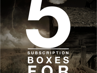 5 Subscription Boxes for (Casual)Preppers.