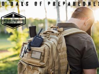 30 DAYS OF PREPAREDNESS