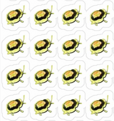 Colorful Bug Stickers